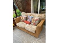 Conservatory Furniture - 2 seater, 2 x 1 seater, coffee table