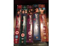 Smallville season 1-5