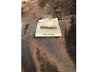 Dunelm mill lined silver velvet curtains only hung for couple of months