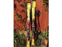 Children's Skis and Ski Poles