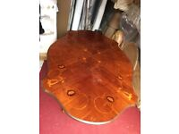 *** Mahogany Dining Table (No Chairs - Only Table) - Good Condition - Used - Only £30 ***