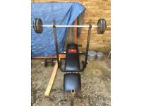 Weight beach pro power + weights