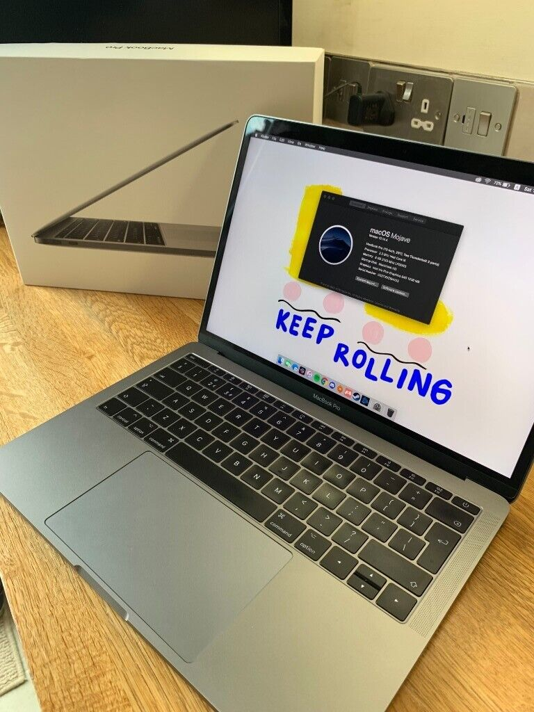 Apple MacBook Pro 2017 13-inch- Space Grey ( Full specs in description) -  GREAT FOR UNI STUDENTS | in Eastbourne, East Sussex | Gumtree