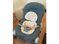 Chicco Hoopla Bouncer - Colour: Sage - Instructions included