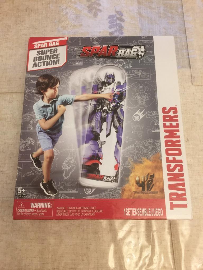 Transformers punch bag