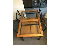 KITCHEN DINNING TABLE WITH 4 CHAIRS FOR QUICK SALE