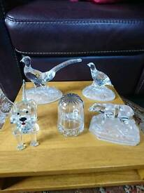 Crystal/glassware animal's