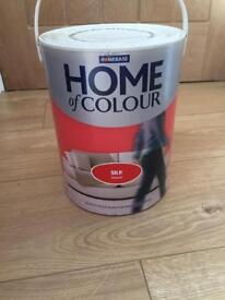 5litre red paint