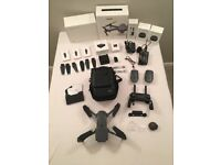 Mavic Pro Fly more bundle DJI drone in superb condition complete with all boxes