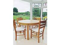 Beautiful kitchen table and dining chairs