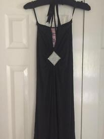 Gorgeous couture black ladies dress XS