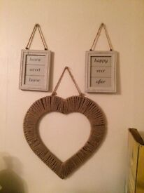 Signs for living room or bedroom