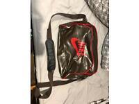 Brown Nike messenger bag