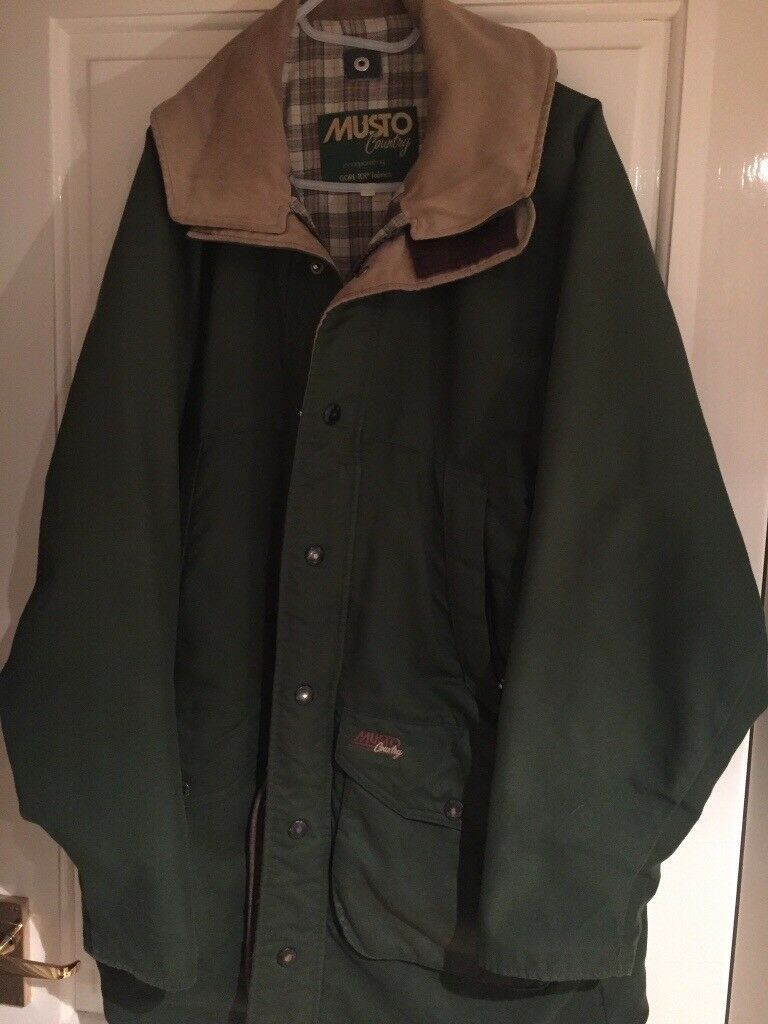 Musto country goretex jacket