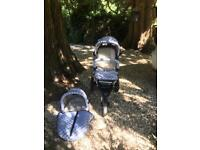 All terrain pushchair