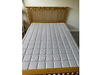 Small Double Bed Frame and Mattress 4ft