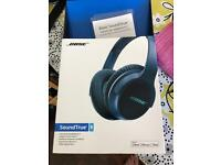Bose SoundTrue headphones used once RRP £149
