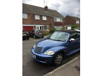 £2,285 ono Chrysler PT Cruiser Convertible, long MOT, excellent condition, heated leather seats