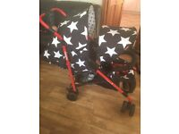 Cosatto double pushchair