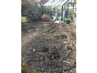 Excellent quality garden topsoil removed from cultivated garden no charge if you come and take it
