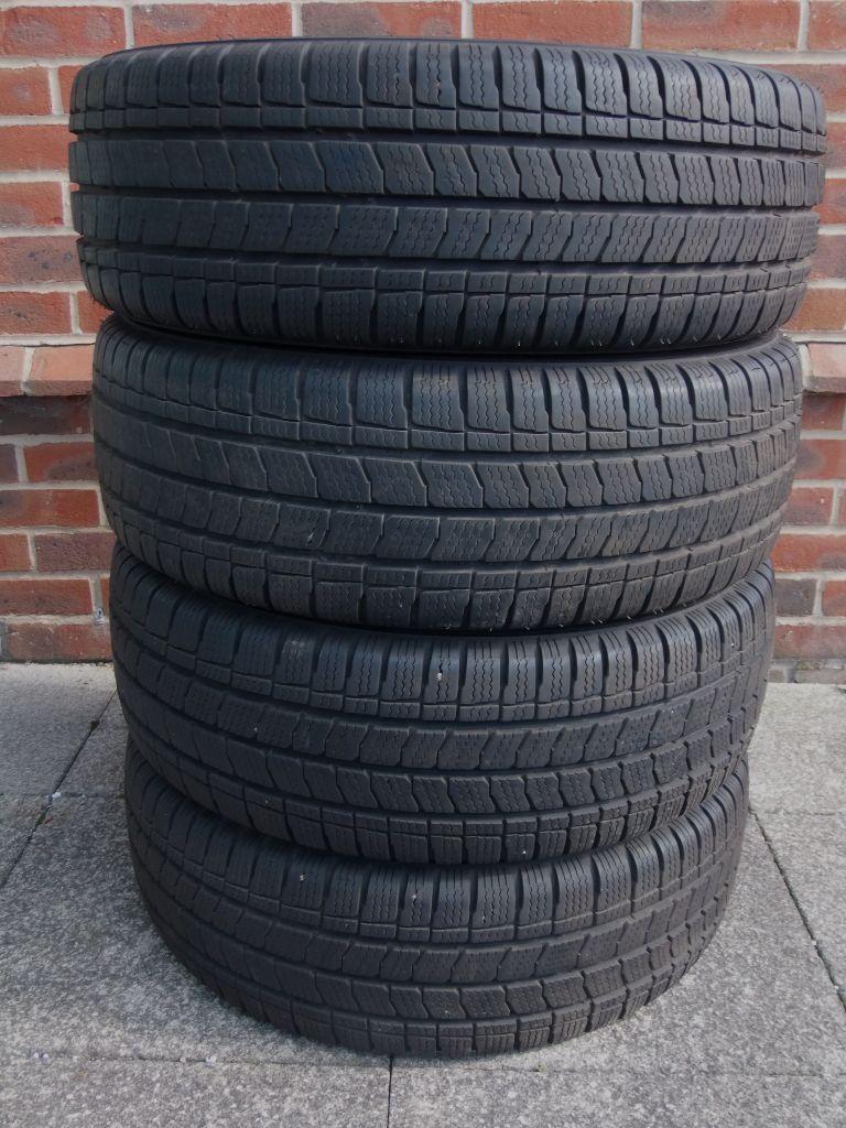 4x Kleber Transalp2 winter van tyres 225/70 R15