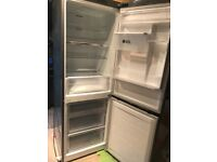 Samsung Brushed steel Fridge freezer.
