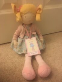 New Ragtales doll with tags