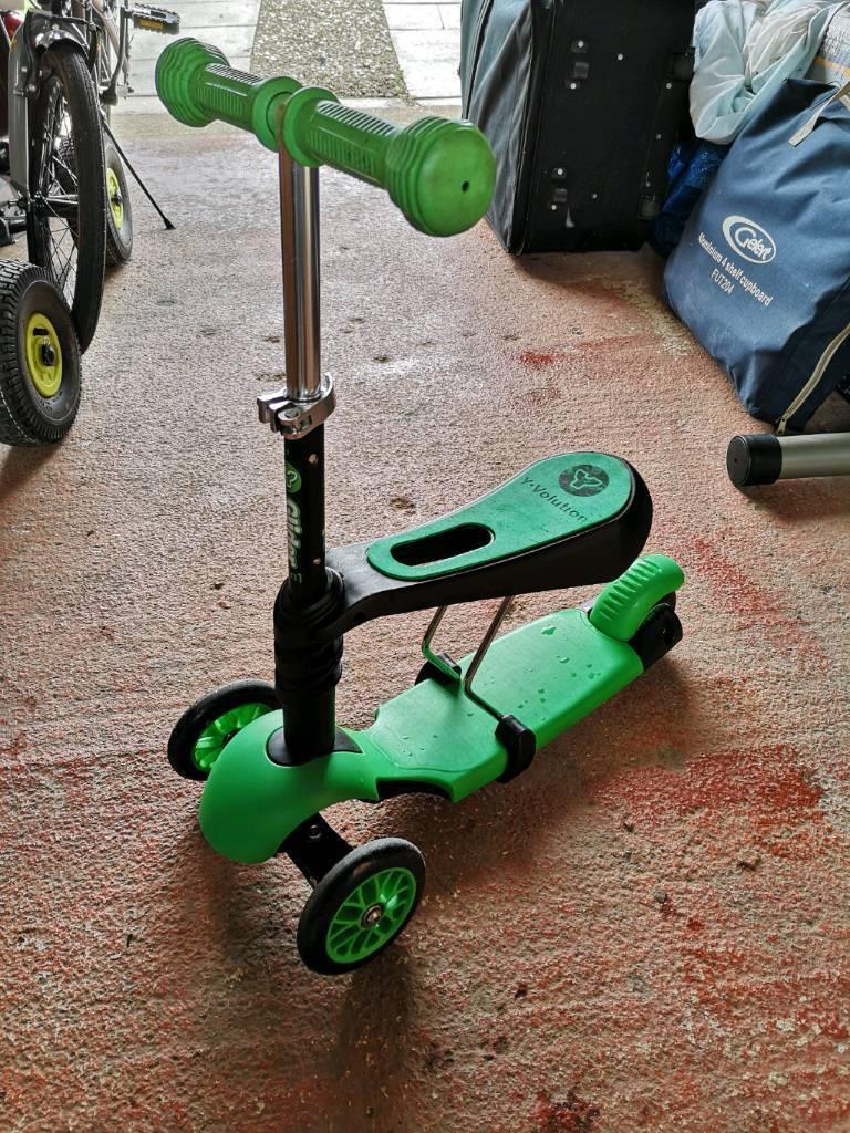 2c85eafecf413 Yvolution 3 in 1 Kids Scooter