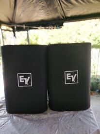 EV ZX5 Speakers (Pair) / Excellent Condition / Orignal Drivers & Speaker Covers