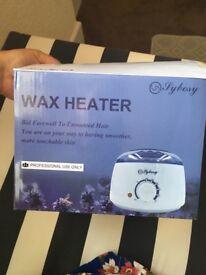 Wax beans and wax heater