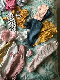 3-6 months girls bundle all worn once maybe less