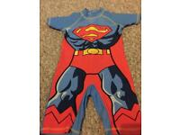 Superman Sunsuit Age 4-5