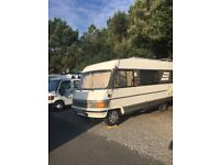 Classic hymer 644 motorhome. LHD Ready to go!