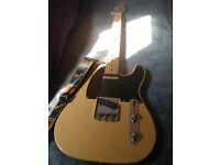 Fender Baja Telecaster. 2009/10 with pro upgrades.