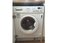 Integrated washing machine electrolux ewx14450w