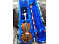 Stentor Student 1 violin 1/4 size, with case, £50 ono