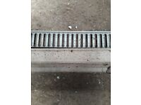 Surface water drainage channels