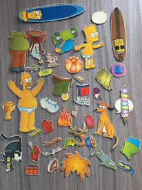 Simpson's fridge magnets for kids to play with, take a lot for only £5, not to be missed