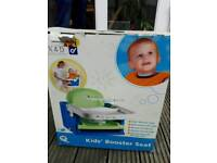 Baby feeding seat fits most chairs