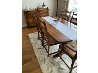 Ercol Golden Dawn Dining Set (Table Chairs Sideboard)
