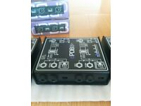 Art Dual Passive Direct Box (Art DPDB) x 4 Boxed Like New Excellent Condition! (£20 EACH, £58 ALL)