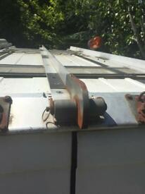 Transit van roof rack rails
