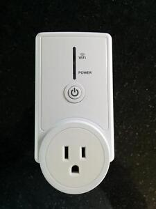 WiFi plug outlet Prise Internet controle smartphone smart West Island Greater Montréal image 1