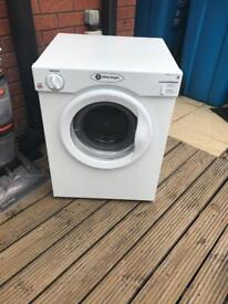 White knight 3KG compact dryer