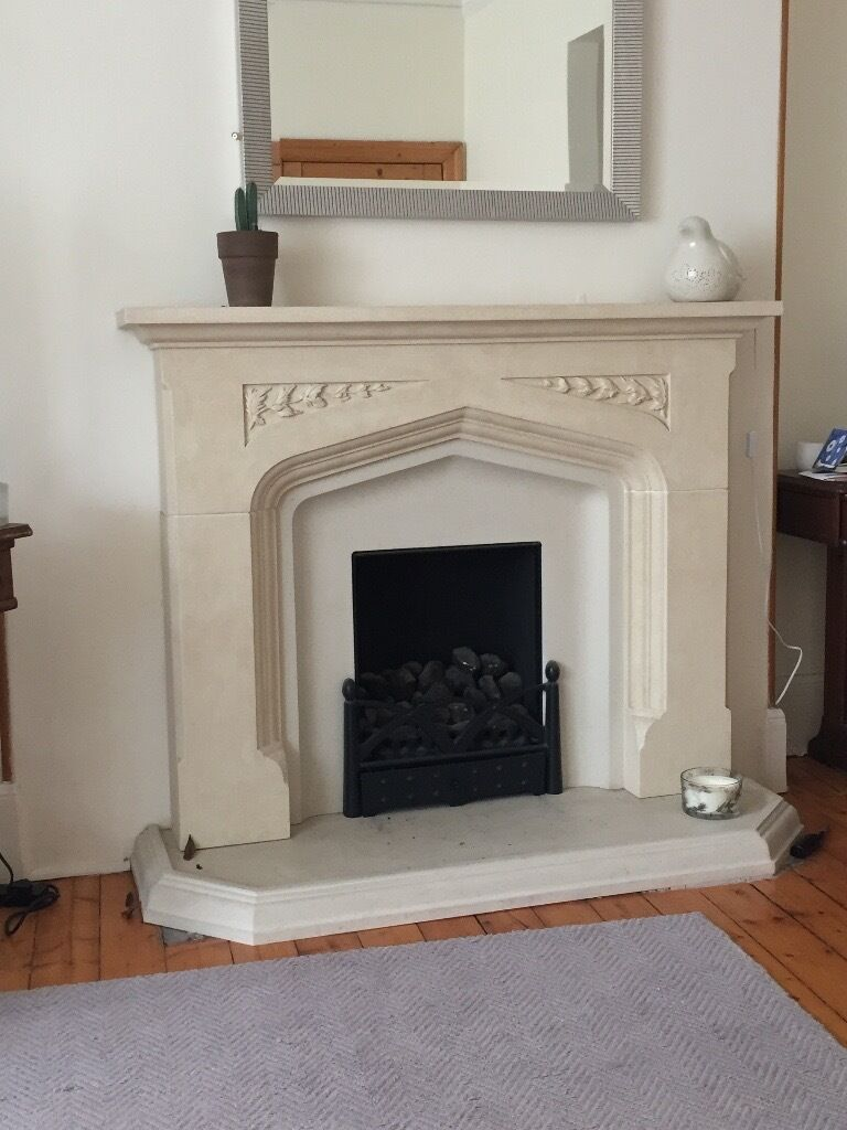 lovely resin fireplace surround and hearth in aberdeen gumtree