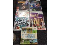 Wii games bundle