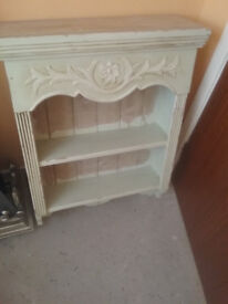 pine painted wall unit
