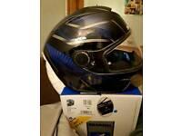 Shark skwal mototbike helmet