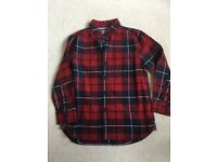 Brand new next checked shirt. Age 5