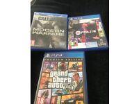 PlayStation 4 games!